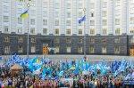 Матеріали про попереджувальну Всеукраїнську акцію протесту профспілок у м. Києві