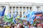 Профспілки пікетували Верховну Раду України
