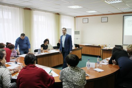 Навчання профспілкового активу області в Чернігові