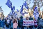 Солідарна акція профспілок проти звуження трудових прав